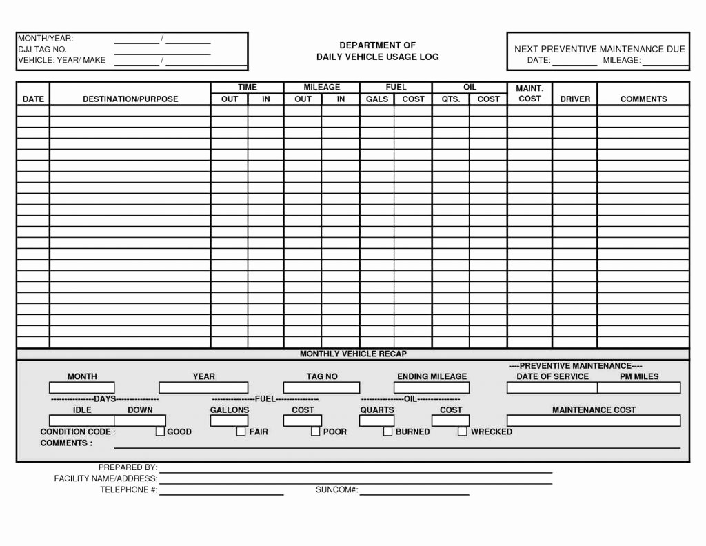 Preventive Maintenance Template Excel Download Beautiful Preventive Maintenance Spreadsheet Template – Spreadsheet