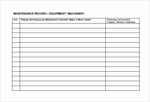 Preventive Maintenance Template Excel Download Elegant Yearly Maintenance Schedule Template – Psychicnights