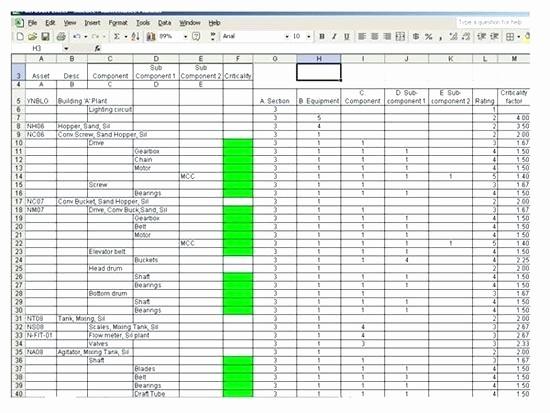 Preventive Maintenance Template Excel Download Fresh Vehicle Preventive Maintenance Schedule Template Excel Log