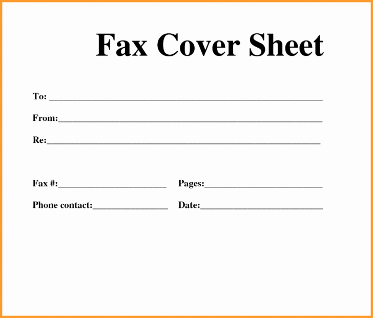 Print A Fax Cover Sheet Lovely Fax Cute Fax Cover Sheet