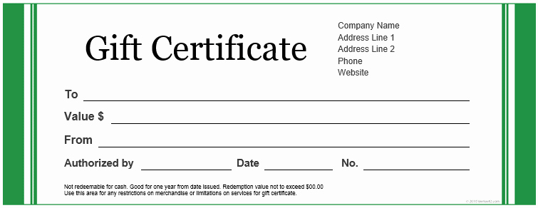 Print Gift Certificates Free Templates Fresh 20 Printable Gift Certificates