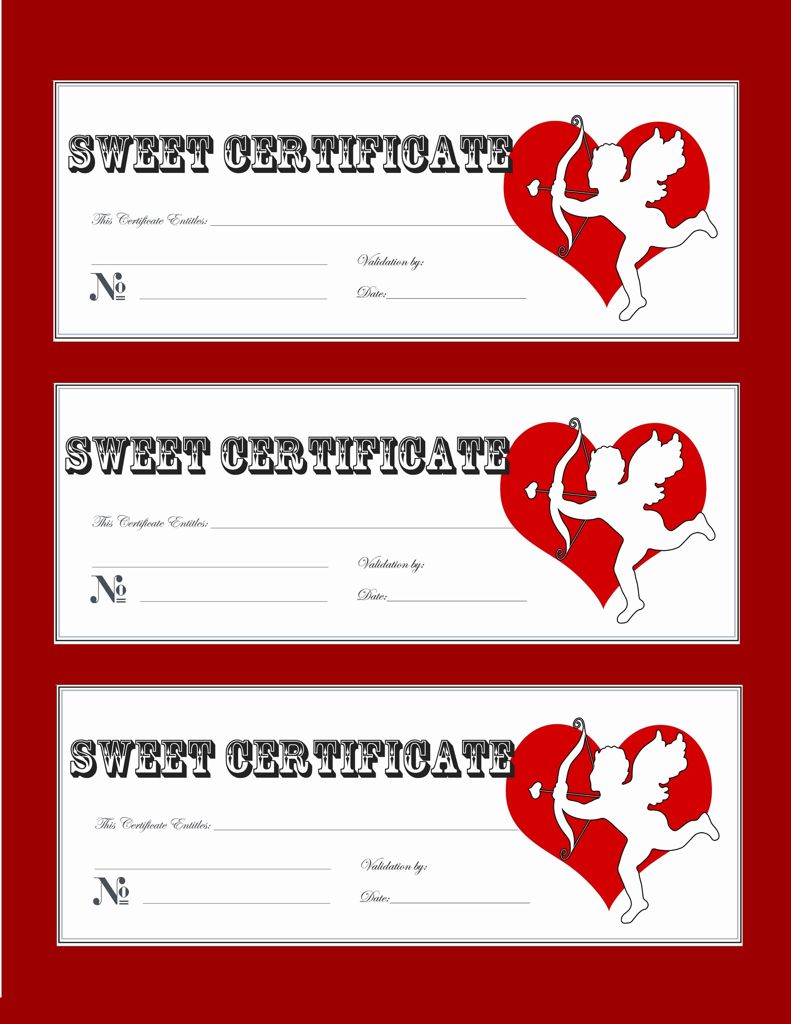 Print Gift Certificates Free Templates Luxury Valentine Gift Certificate Templates