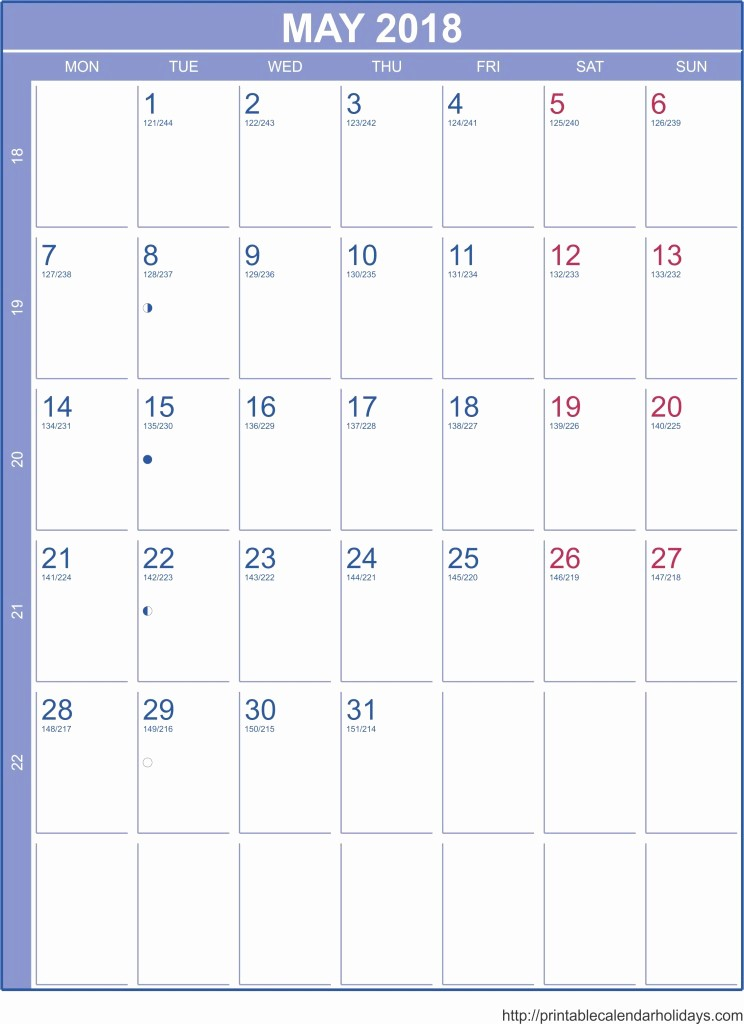 Printable 2016 Calendars with Holidays Beautiful 2018 Calendars Archives Free Printable Calendar 2016