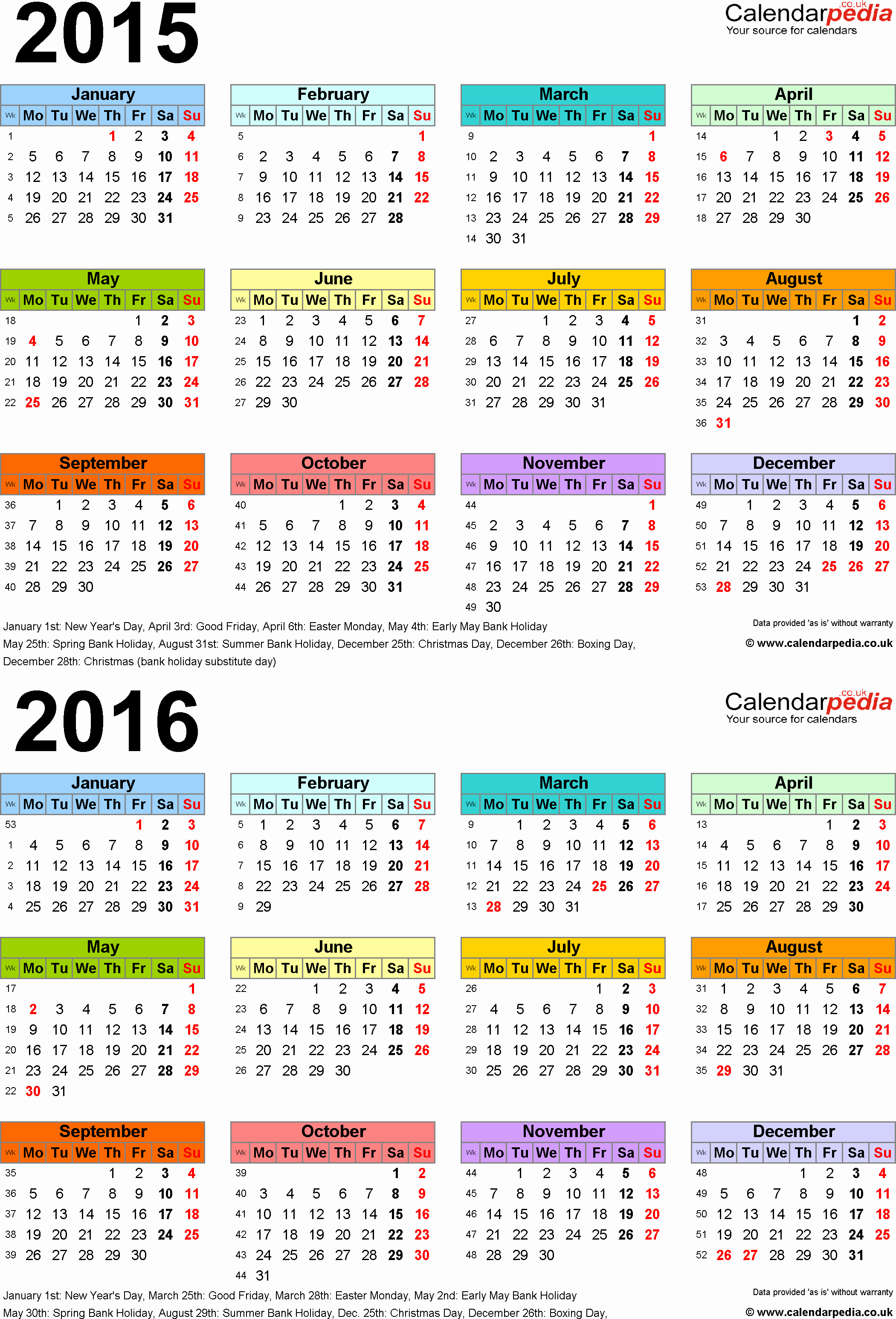 Printable 2016 Calendars with Holidays Elegant Fresh Printable 2016 Calendar with Holidays