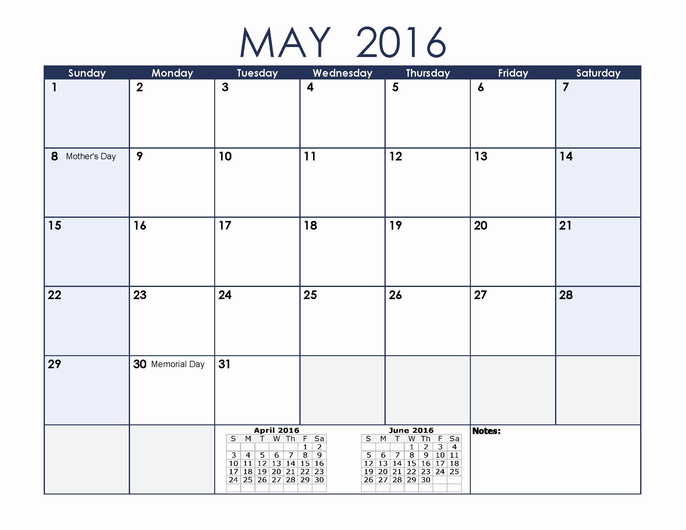 Printable 2016 Calendars with Holidays Fresh May 2016 Calendar with Holidays[usa Uk Canada