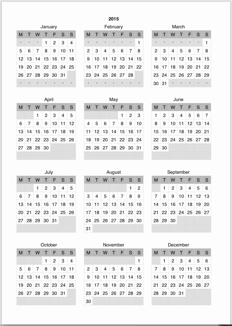 Printable 2016 Calendars with Holidays Inspirational November 2016 Calendar with Holidays Printable – 2017