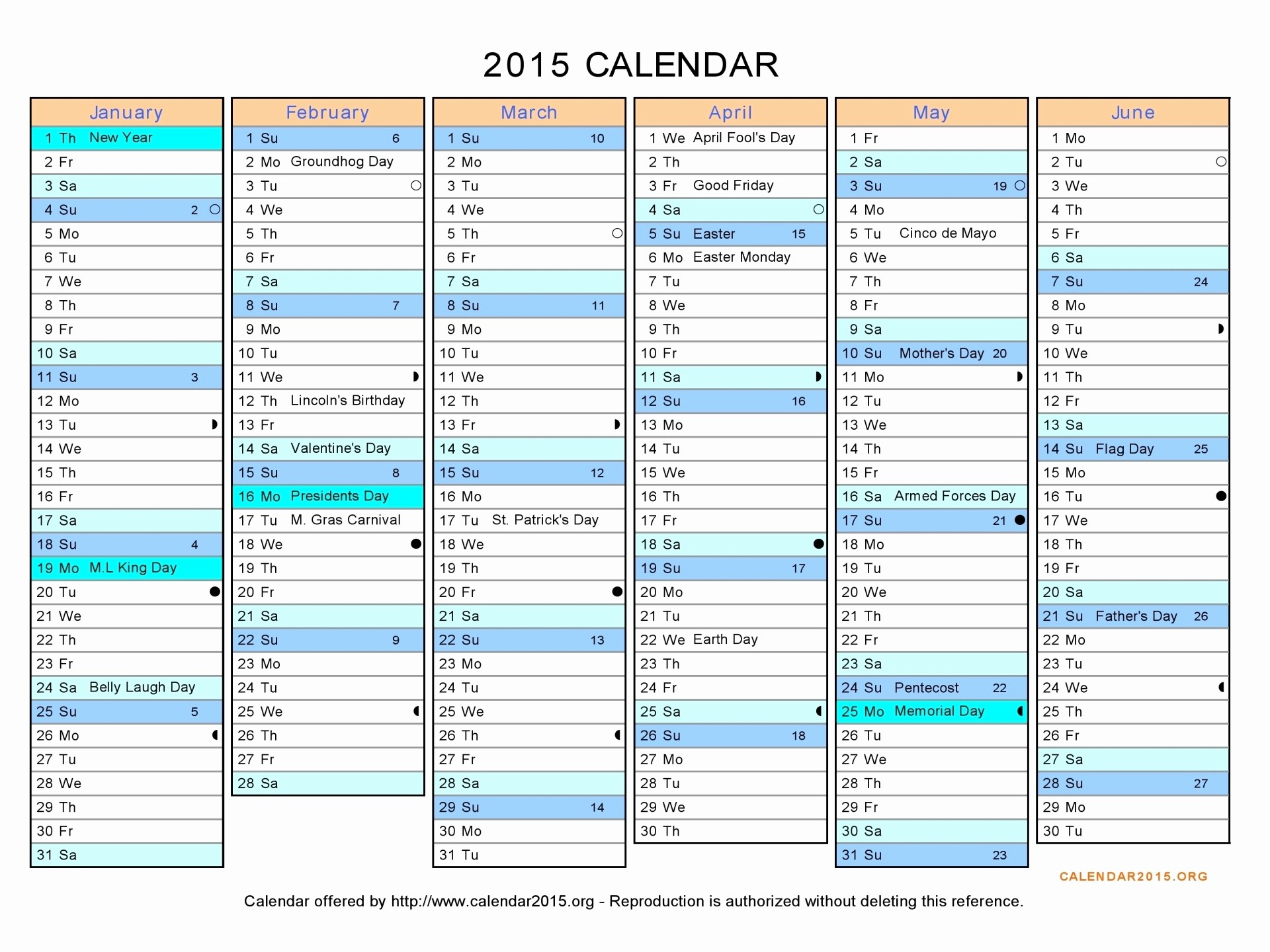 Printable 3 Month Calendar 2015 Lovely 8 Best Of 2015 Printable Calendar 6 Months Per Page