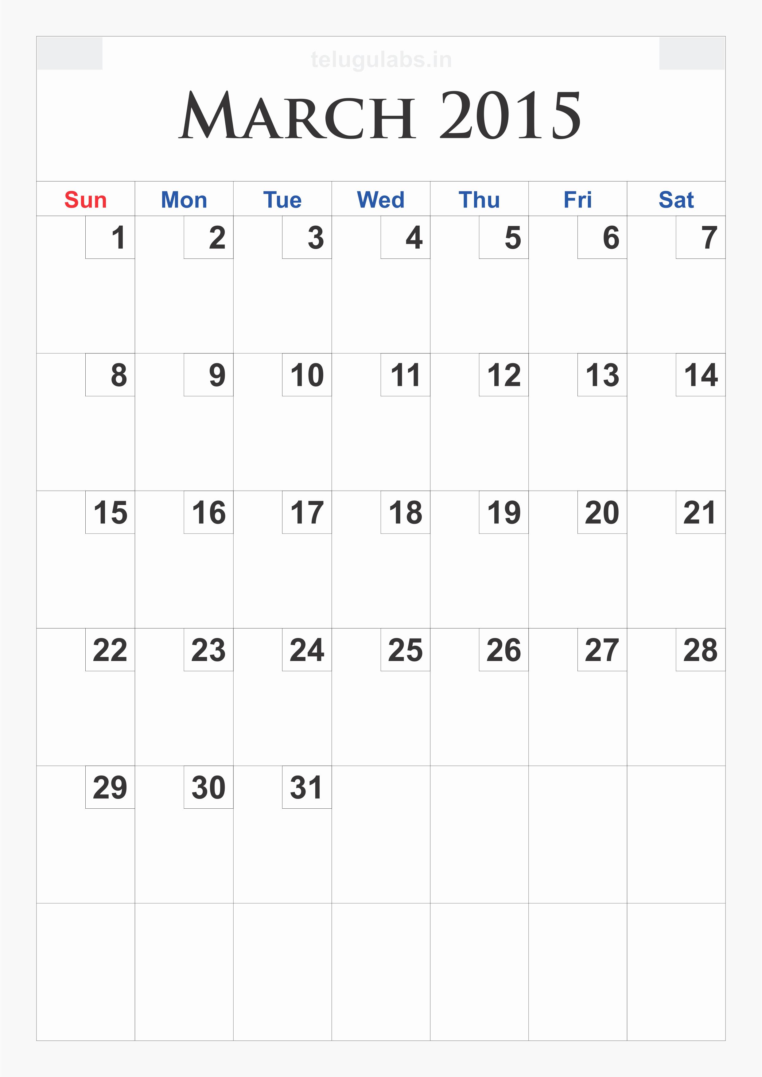 Printable 3 Month Calendar 2015 Lovely 9 Best Of March 2015 Printable Calendar organizer