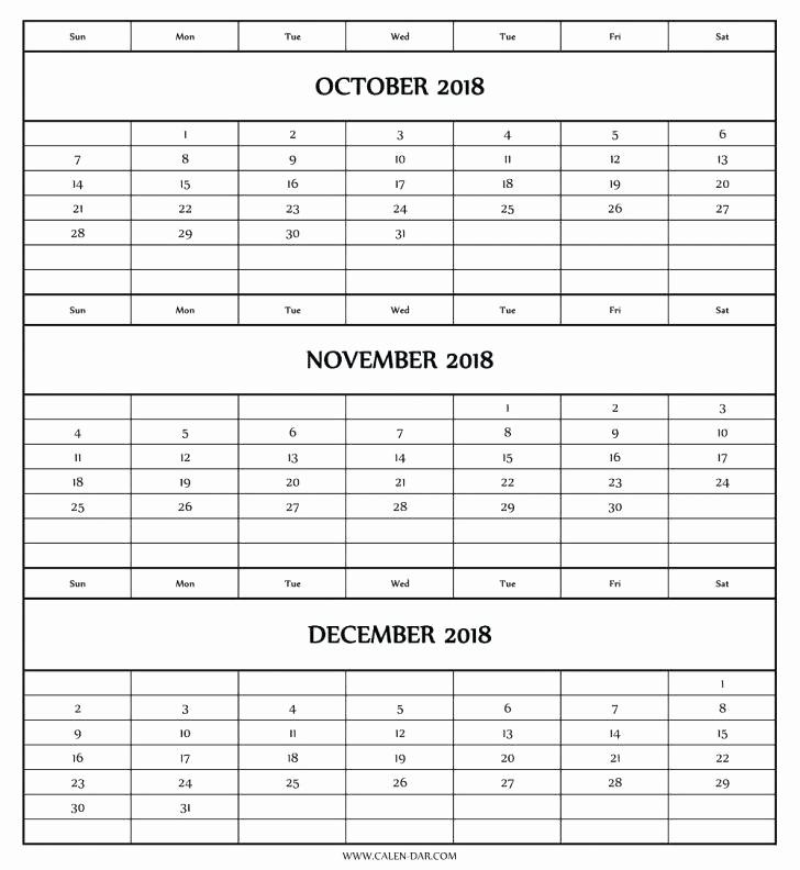 Printable 3 Month Calendar 2015 New 3 Month Calendar 2015 Printable – Metforminfo