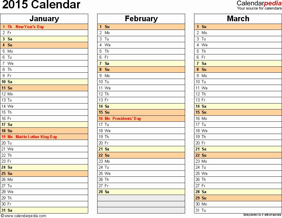 Printable 3 Month Calendar 2015 New 5 Best Of July 2015 Printable Calendar 6 Months