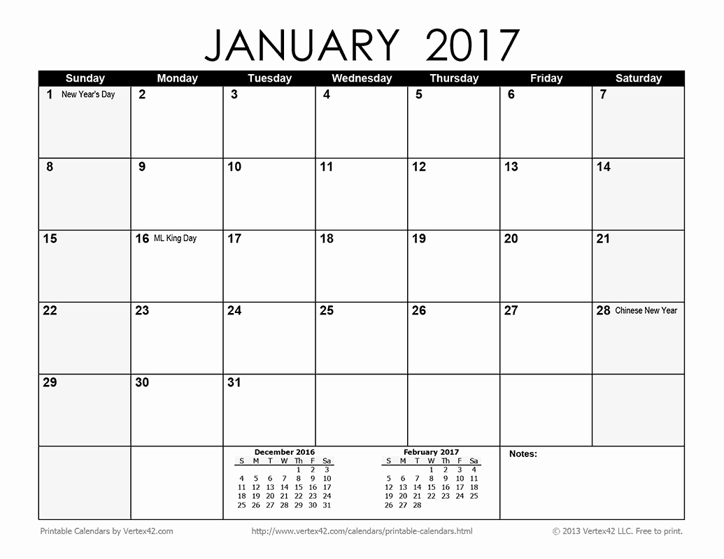 Printable 3 Month Calendar 2017 New Download A Free Printable Monthly 2017 Calendar From