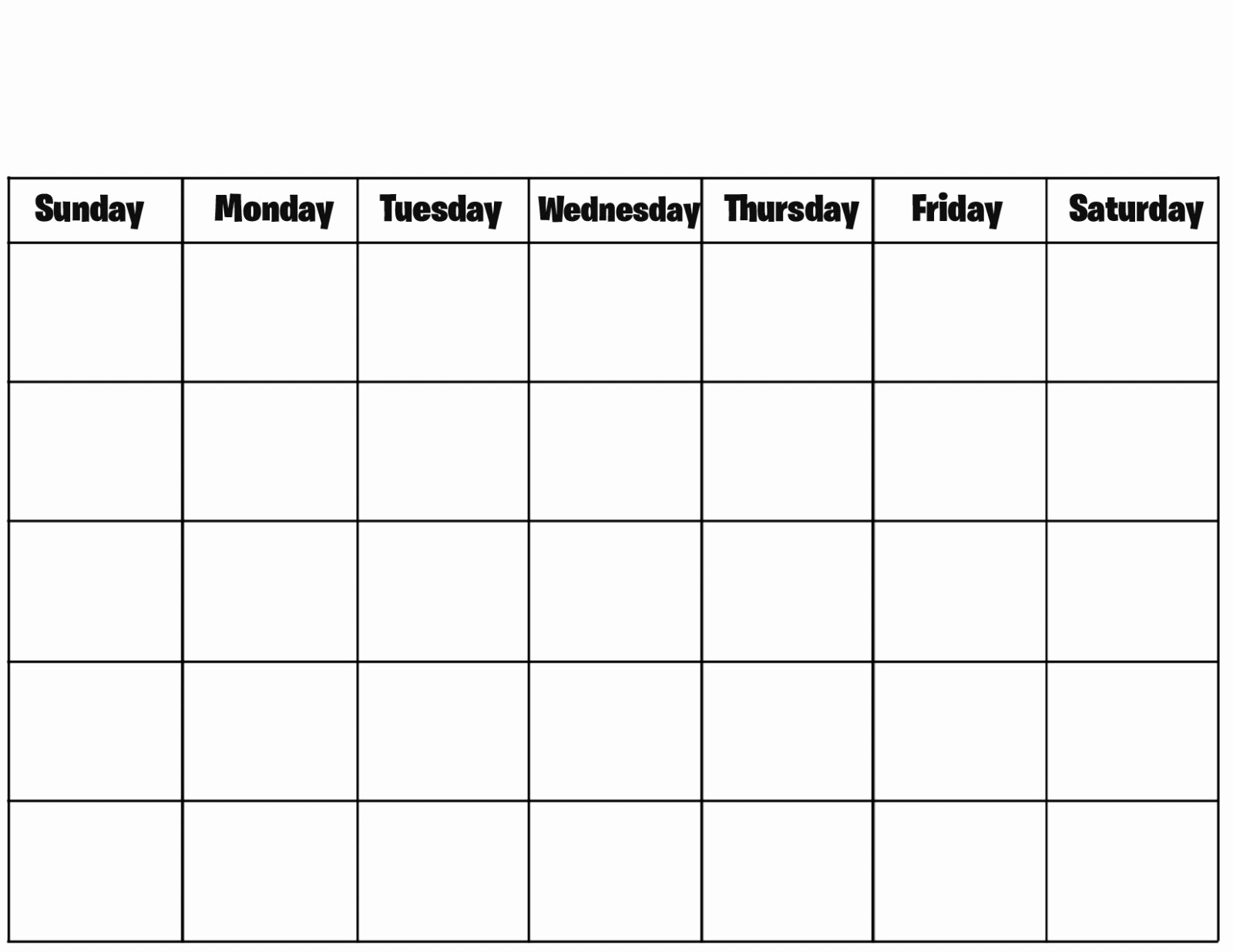 Printable 4 Month Calendar 2017 Luxury Blank 12 Month Calendar Printable 2018