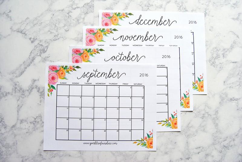 Printable 4 Month Calendar 2017 Luxury Free Printable 2017 Monthly Calendar and Weekly Planner