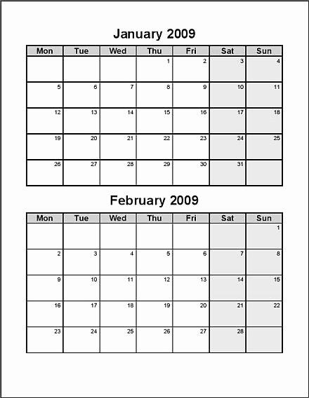 Printable 6 Month Calendar 2016 Lovely 6 Best Of Free Printable 2016 Bi Monthly Calendar