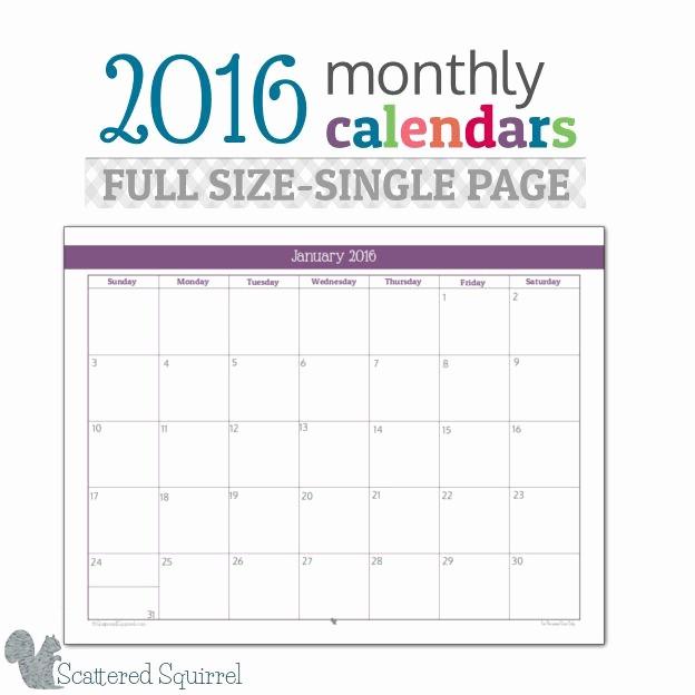 Printable 6 Month Calendar 2016 Luxury Darmowe Plannery Do Wydrukowania Jak Mieć organizer