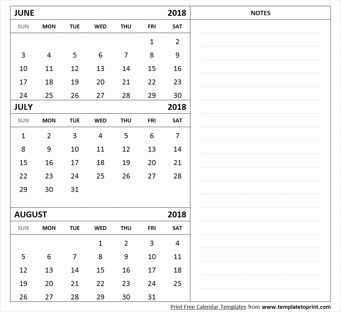 Printable 6 Month Calendar 2018 Elegant 2018 August Printable E Page – Calendar Printable