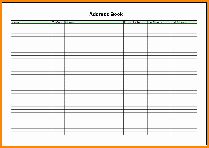 Printable Address Book Template Word Unique List Of Synonyms and Antonyms Of the Word Memo Address
