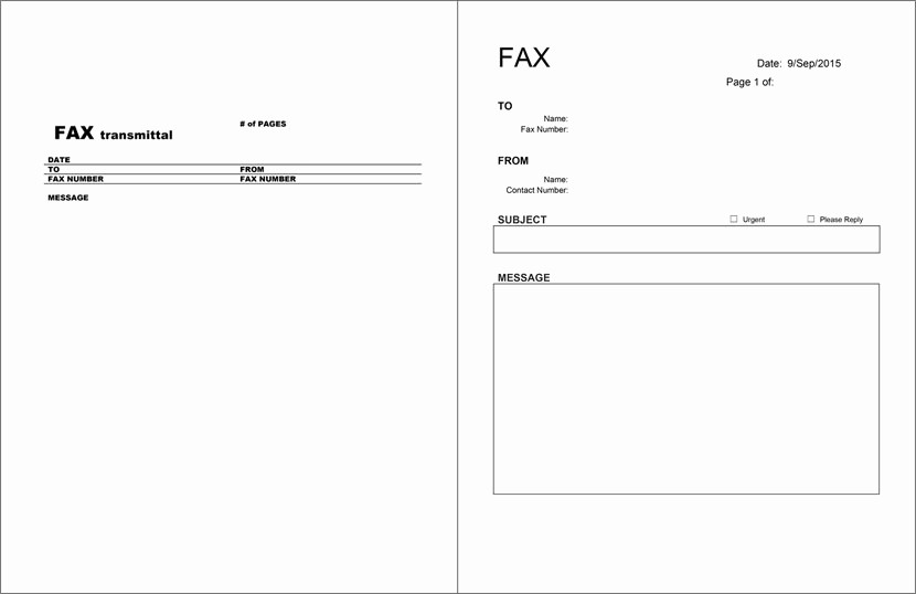 Printable Basic Fax Cover Sheet Elegant 12 Free Fax Cover Sheet for Microsoft Fice Google Docs
