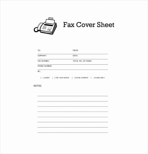 Printable Basic Fax Cover Sheet New Floridaframeandart