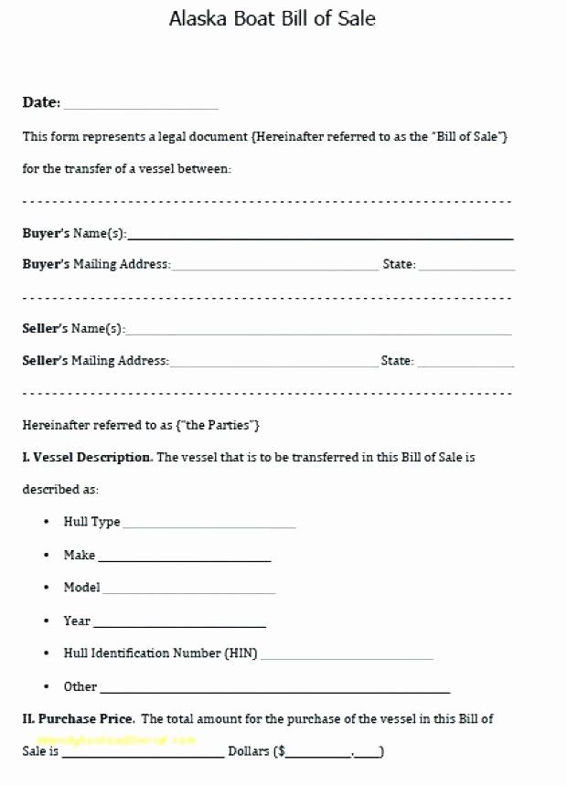 Printable Bill Of Sale Ga Fresh 15 Bill Of Sale Template Ga