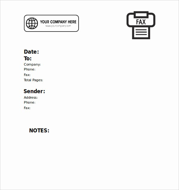 Printable Blank Fax Cover Sheet Beautiful 13 Printable Fax Cover Sheet Templates – Free Sample