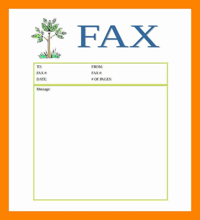 Printable Blank Fax Cover Sheet Luxury 9 Free Printable Fax Cover Sheets Templates