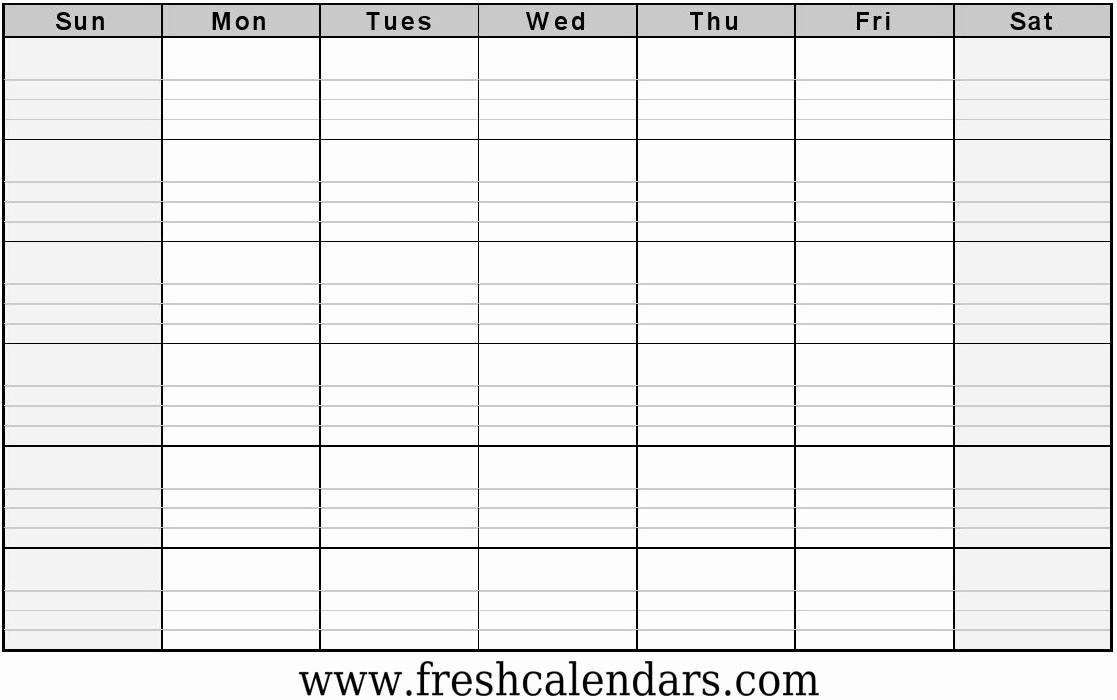 Printable Blank Monthly Calendar Template Fresh Blank Calendar Wonderfully Printable 2019 Templates
