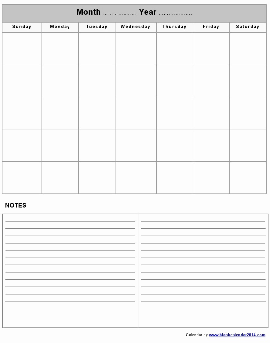 Printable Blank Monthly Calendar Template Luxury Blank Monthly Calendar Template Word