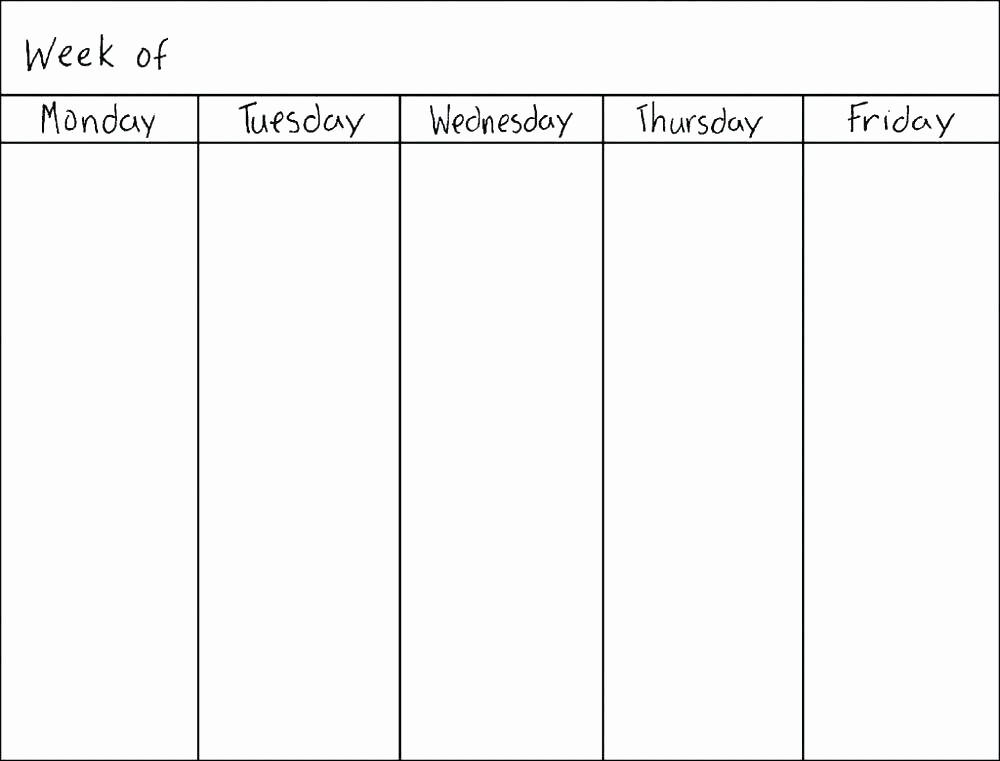 Printable Blank Monthly Calendar Template New Blank Monthly Planner Template – Voipersracing