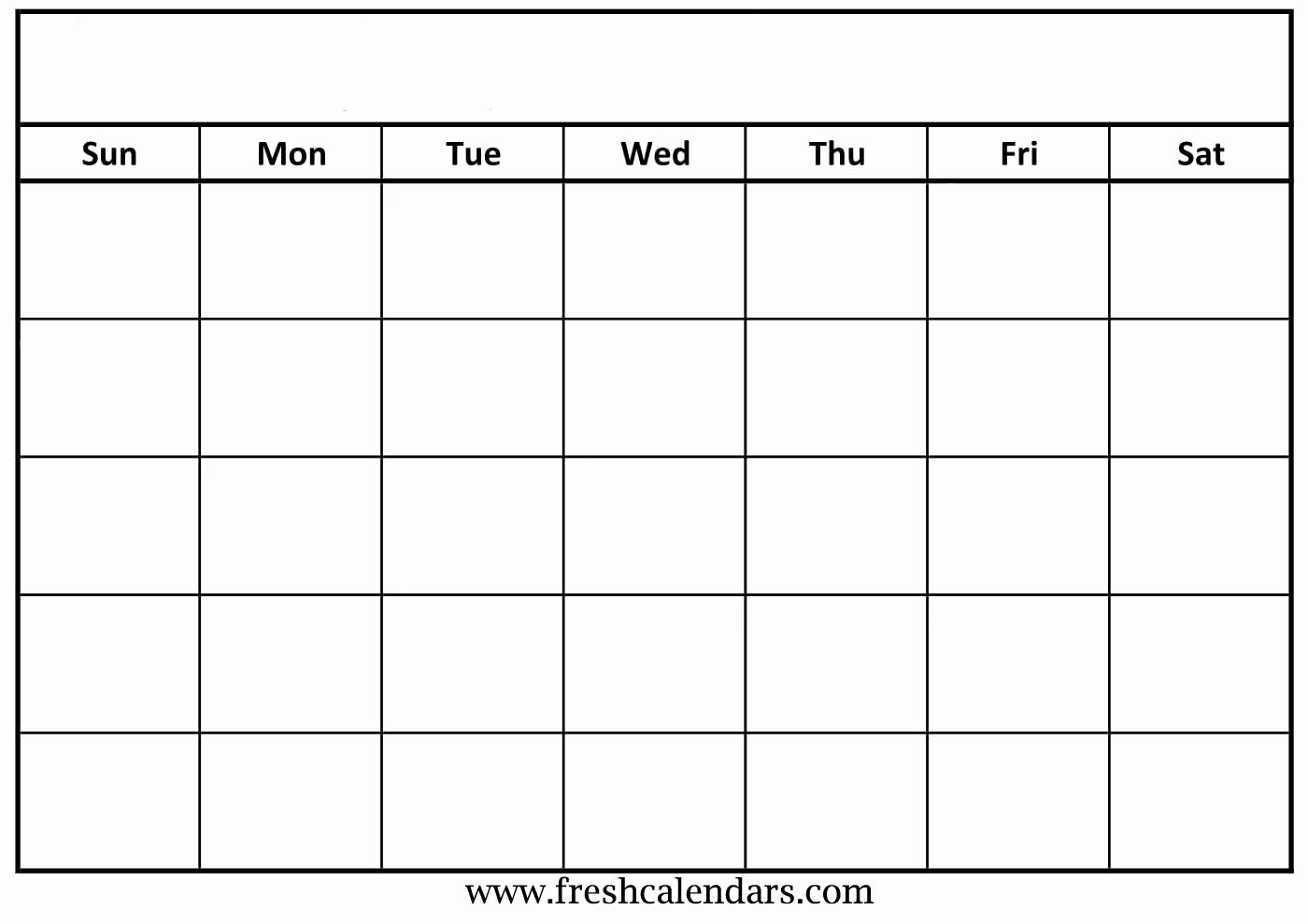 Printable Blank Monthly Calendar Template Unique Blank Calendar Wonderfully Printable 2019 Templates