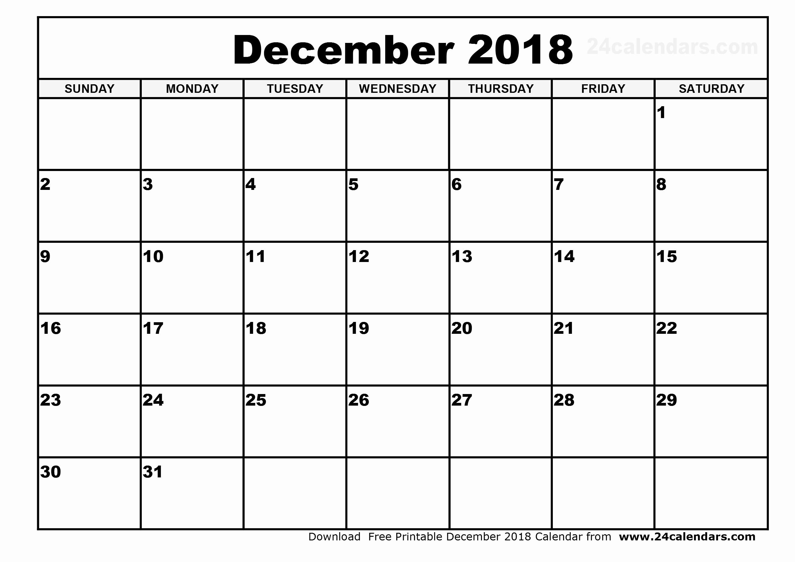 Printable Calendar December 2018 Landscape New Printable Landscape August 2018 Calandar