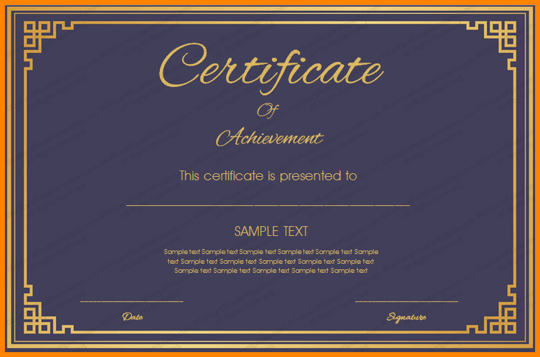 Printable Certificate Of Achievement Template Fresh Certificate Template Png Transparent Certificate Template