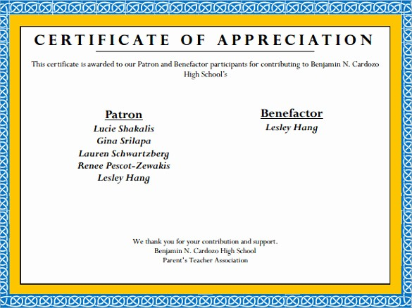 Printable Certificate Of Appreciation Template Best Of 24 Sample Certificate Of Appreciation Temaplates to