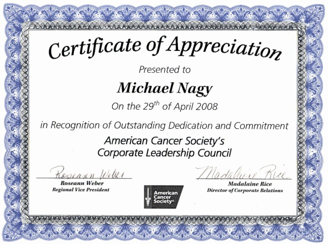 Printable Certificate Of Appreciation Template Elegant 43 formal and Informal Editable Certificate Template