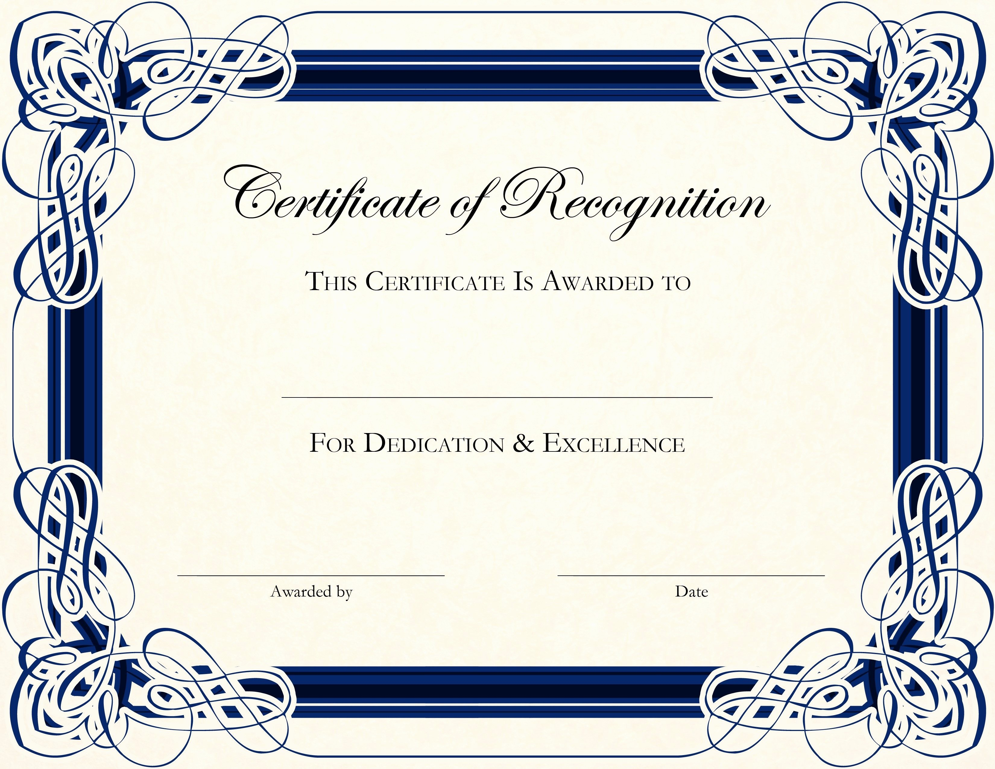 Printable Certificate Of Appreciation Template Fresh Free Printable Certificate Templates for Teachers