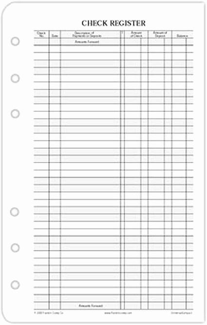 Printable Check Register Full Page Lovely 7 Best Of Printable Check Register Full Size