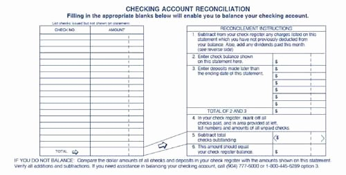 Printable Checking Account Balance Sheet Luxury Printable Checking Account Balance Sheet