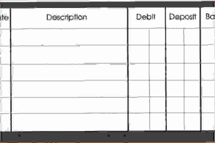 Printable Checking Account Balance Sheet Unique 5 Checkbook Balance Sheet