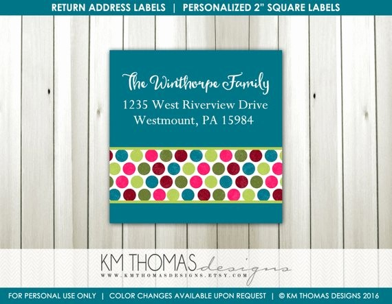 Printable Christmas Return Address Labels Awesome Printable Return Address Label Square Label Christmas
