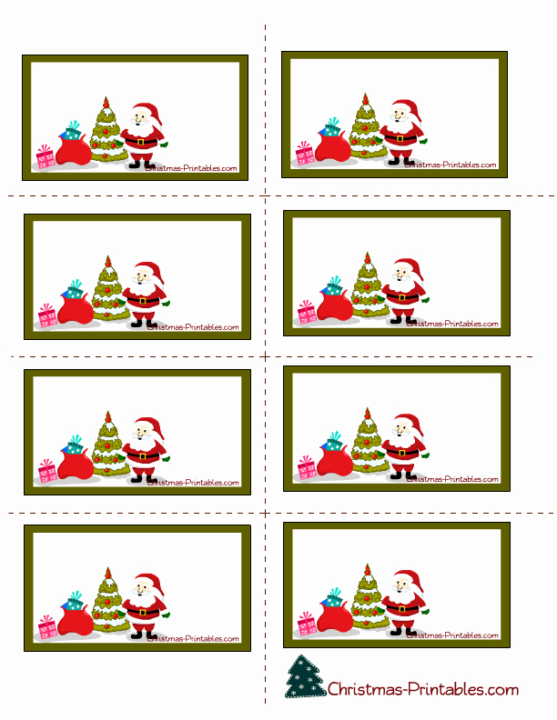 Printable Christmas Return Address Labels Fresh Free Christmas Label Clipart Clipart Collection