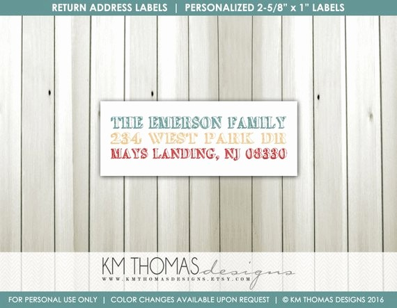 Printable Christmas Return Address Labels Lovely Printable Return Address Label Matching Holiday Label