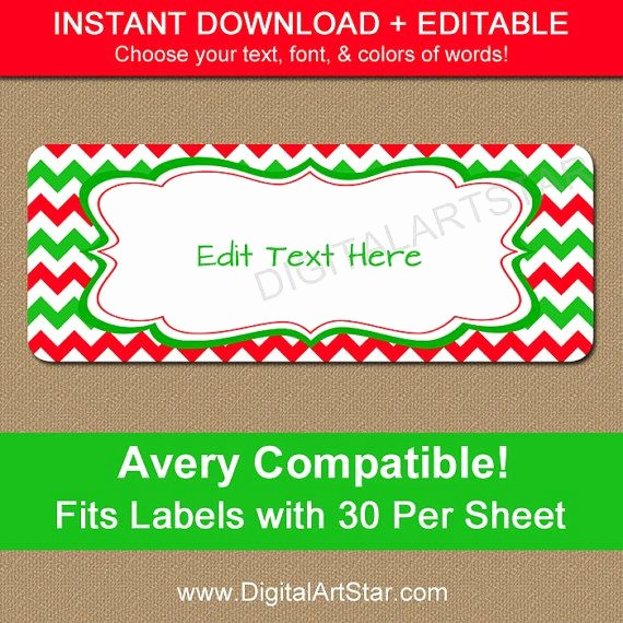 Printable Christmas Return Address Labels New 16 Best Return Address Labels Images On Pinterest