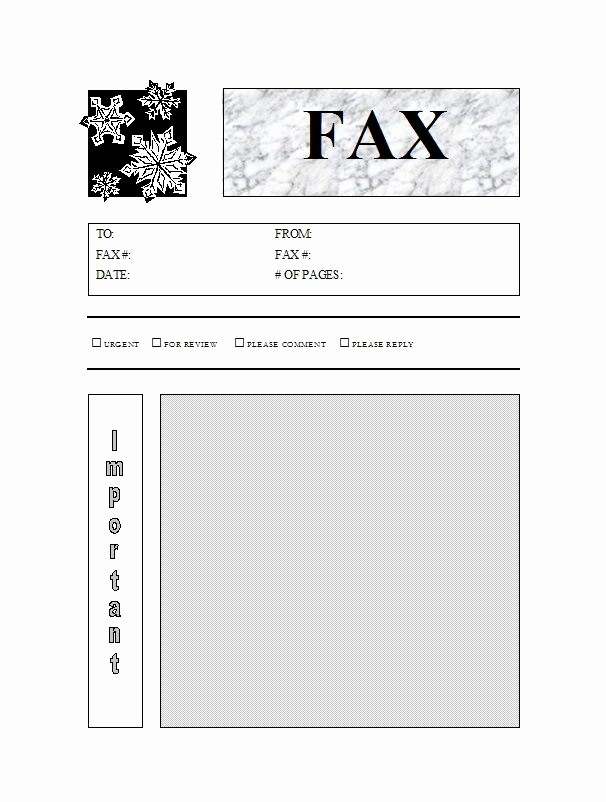Printable Cover Sheet for Fax Awesome 40 Printable Fax Cover Sheet Templates Template Lab