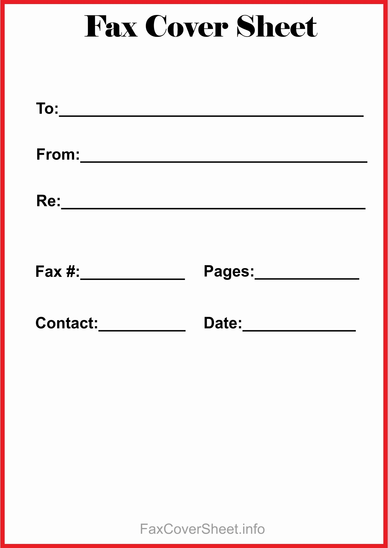 Printable Cover Sheet for Fax Elegant Free Fax Cover Sheet Template Download