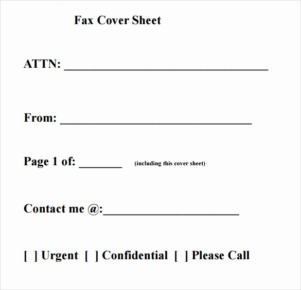 Printable Cover Sheet for Fax Luxury Download Fax Cover Sheet Templates Pdf Printable
