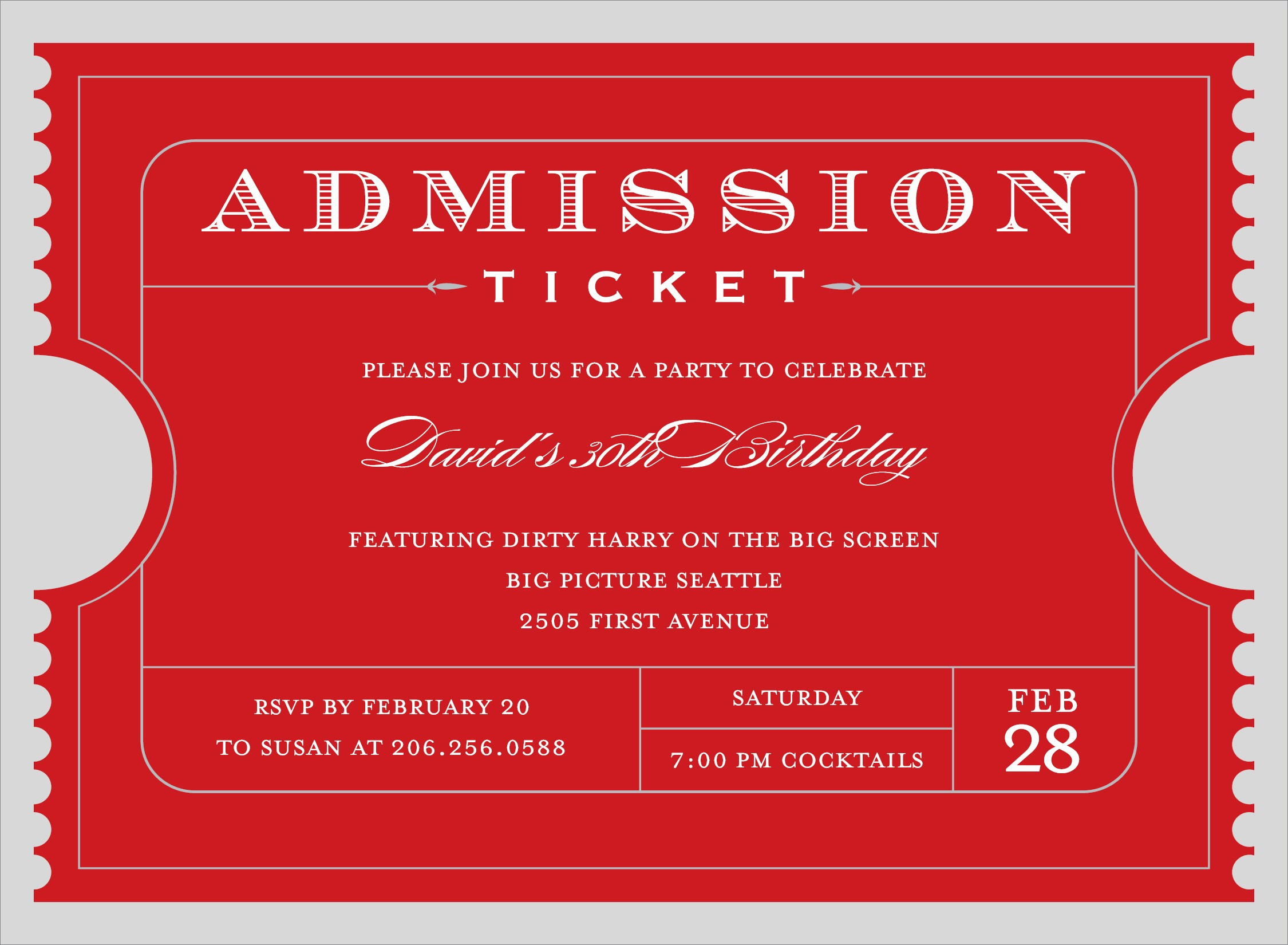 Printable event Tickets Template Free Inspirational Lovely Free event Ticket Template Printable