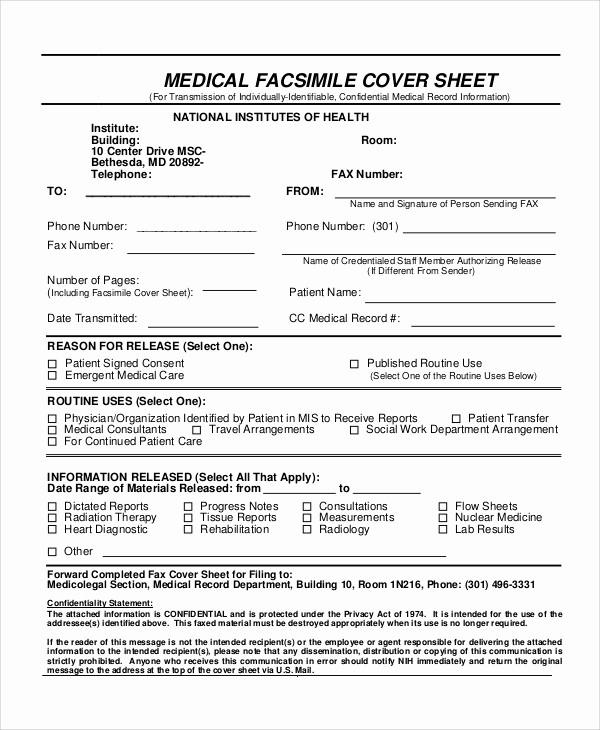 Printable Fax Cover Sheet Confidential Elegant 7 Sample Confidential Fax Cover Sheets