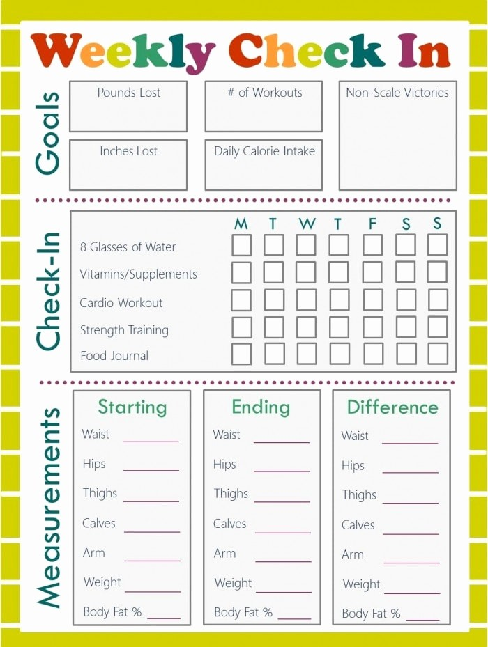 Printable Food and Exercise Journal Beautiful Free Fitness Journal Meal Planning Printables