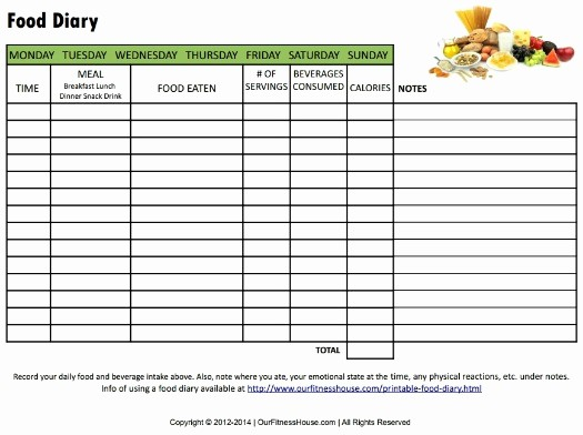 Printable Food and Exercise Journal Fresh Printable Workout Routines and Healthy Lifestyle Charts
