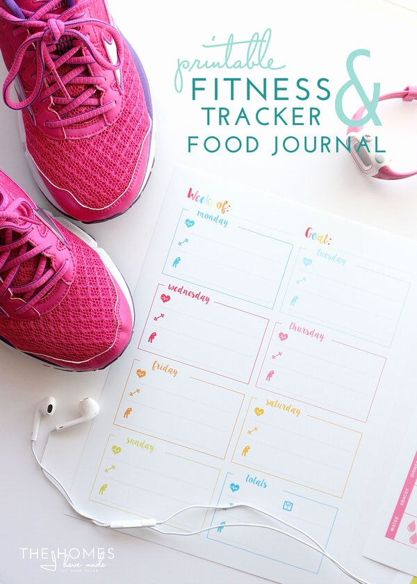 Printable Food and Exercise Journal Lovely Printable Fitness Trackers and Food Journal